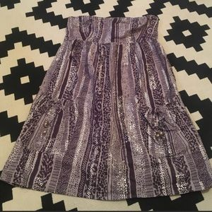 Like new never been washed strapless Gap dress